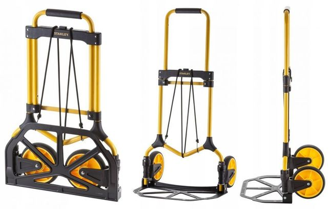 Wózek transportowy stalowy składany 90kg STANLEY