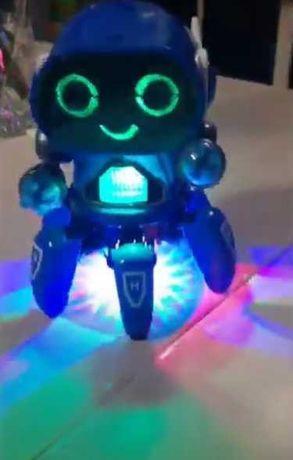 Робот с пультом, Конструктор - Robot Tobi - развите мышления, паучек