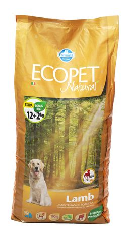 Ecopet Natural MAXI LAMB 14kg JAGNIĘCINA dla psów