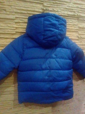 CoolClub Smyk kurtka zimowa + czapka gratis r.80