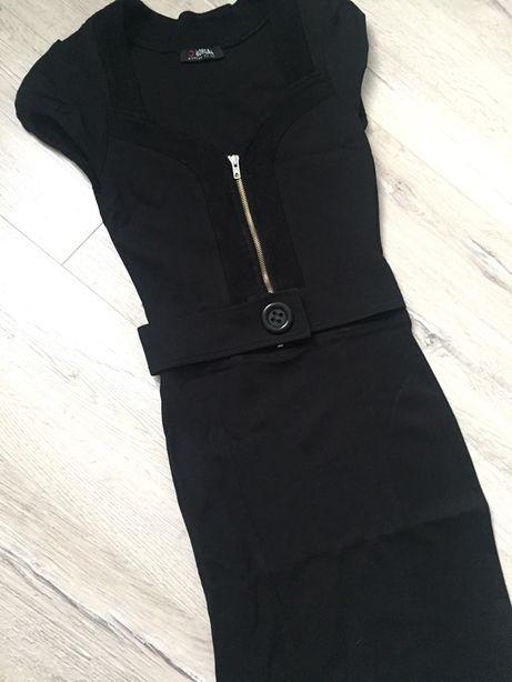 Стрейчевое платье, размер S. Можно носить как летом так и осенью