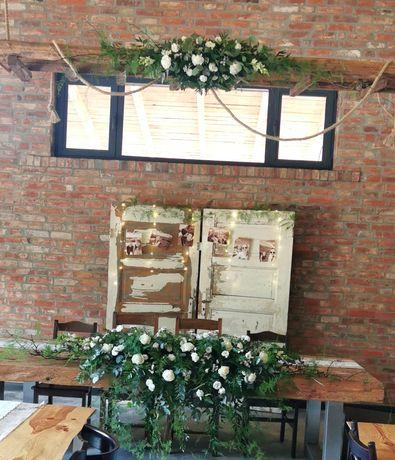 Oprawa florystyczna ślubów, wesel, kościołów Z PASJI DO KWIATÓW