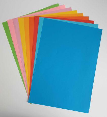 papier ksero ciemnoniebieski, format A4, 80g - na sztuki
