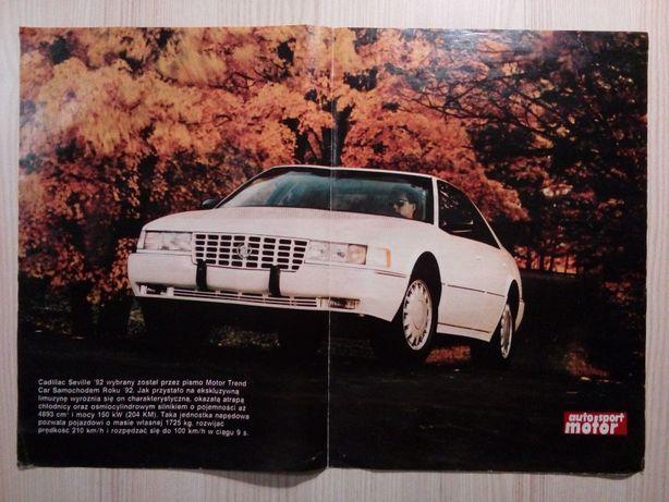 Plakat Poster Cadillac Seville 34cm x 48cm Samochody Auto Cars USA