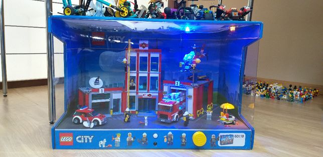 Lego gablotka reklamowa zamiana fiat 126p.