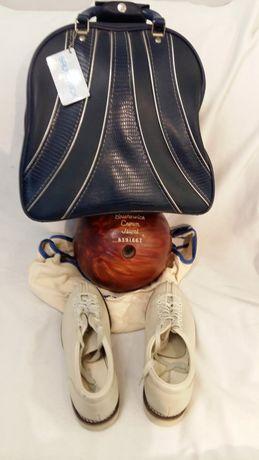 Kula do kręgli bowling Brunswick Crown Jewel torba i buty