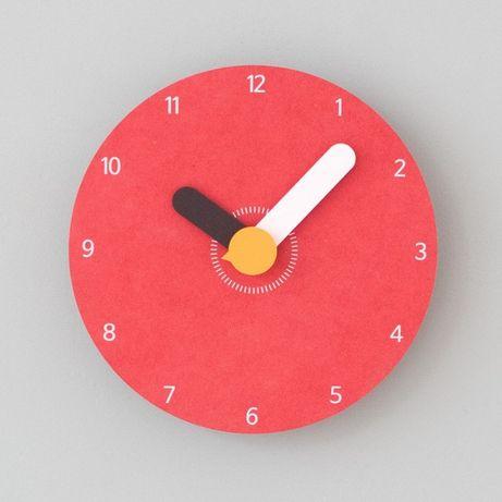 Часы настенные дизайнерские необычные оригинальные 10 лет гарантии 3D