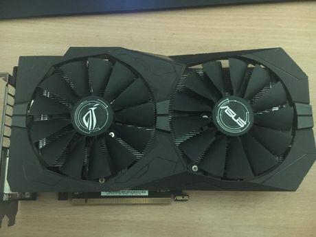 Продам Asus Strix Radeon RX 470 4GB