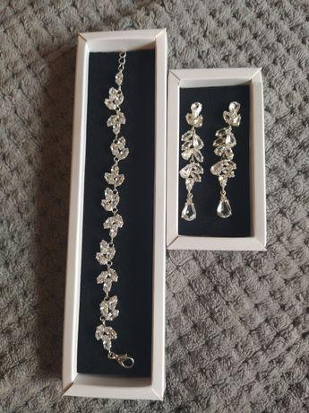 Biżuteria ślubna - srebrna