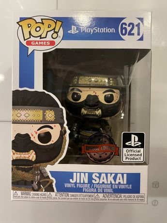POP! Funko Ghost of Tsushima - Jin Sakai Bloody 621