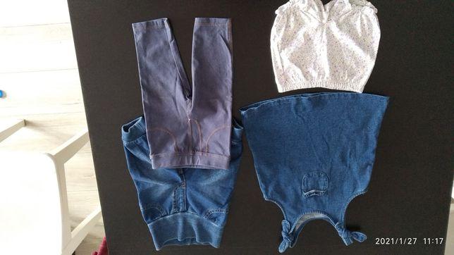 Sukienka i spodnie