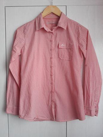 Różowa koszula w kratę House, r. XS