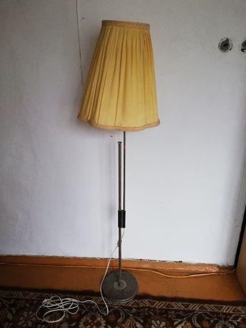 lampa stojąca, lata 70 , sprawna