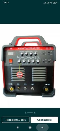 Аргоннодуговой сварочный аппарат Redbo  pulse 200 ac dc