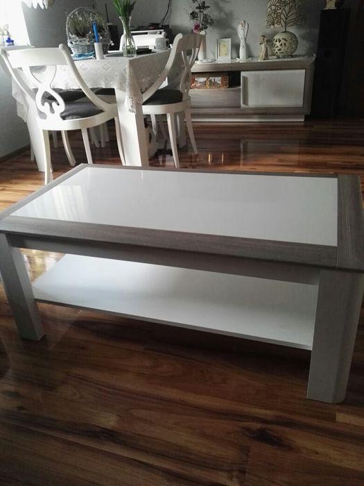 Sprzedam bardzo ładną ławę , stolik kawowy Biskupiec - image 1
