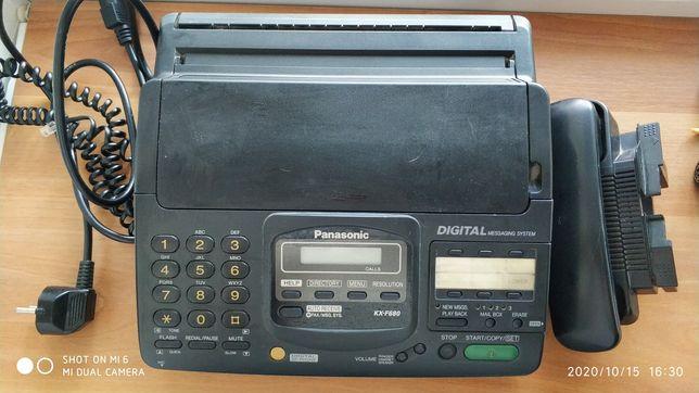 Продам или обменяю факс Panasonic KX-F 680