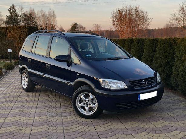 Opel Zafira 1.8 Benzyna + LPG! Lak.Oryginał ! 7 Osób! HAK ! Piękna !