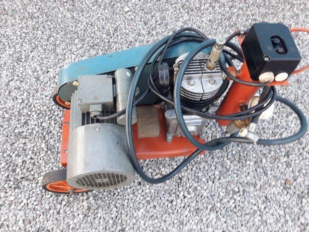 Sprężarka na silniku jednorazowy
