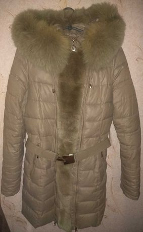 Пуховик зимняя куртка для беременных
