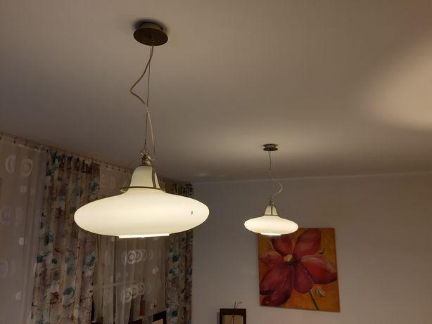 Lampy żyrandol z alabastru