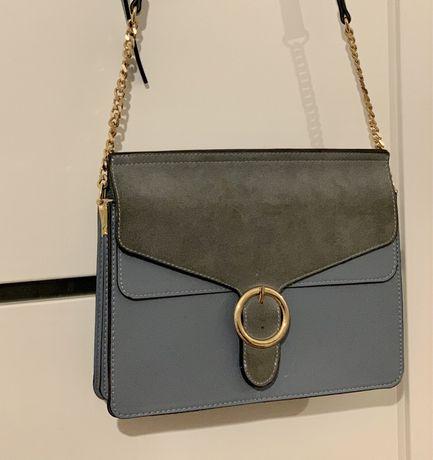 Orsay błękitna torebka listonoszka