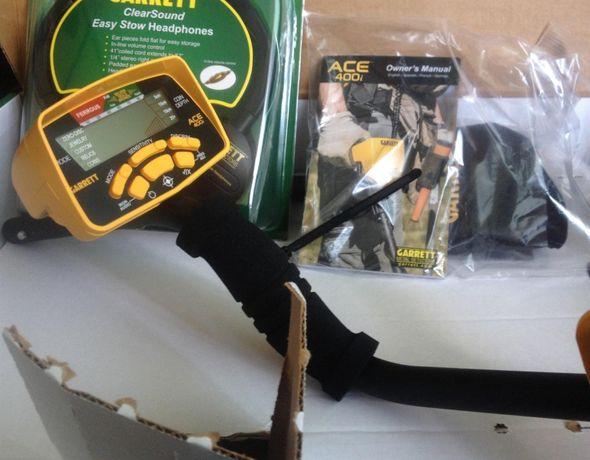 Металлоискатель • Металлодетектор • Garrett ACE 400i • | Металошукач