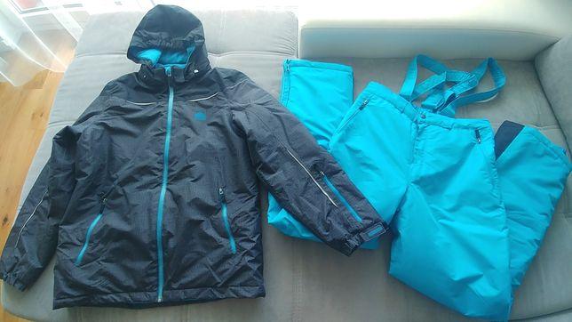Tchibo 158/164 kombinezon kurtka spodnie narciarskie