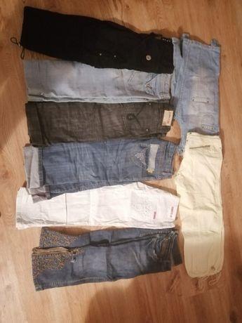 Spodnie 3/4 jeansy