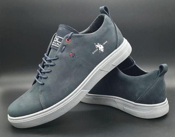 Кеды, кроссовки кожаные стильные U.S.Polo (RALPH LAUREN 40-45р