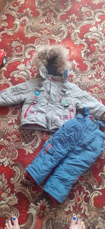 Зимняя куртка и комбинезон Kiko