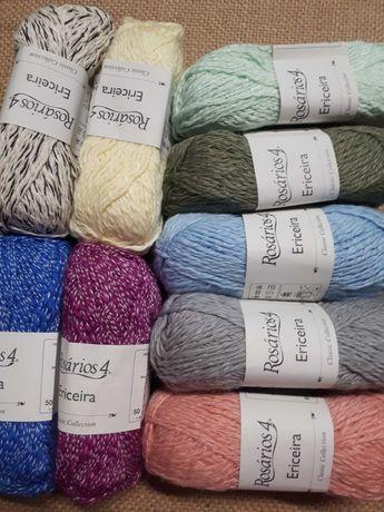 Lã 70%algodão e 30%acrilico