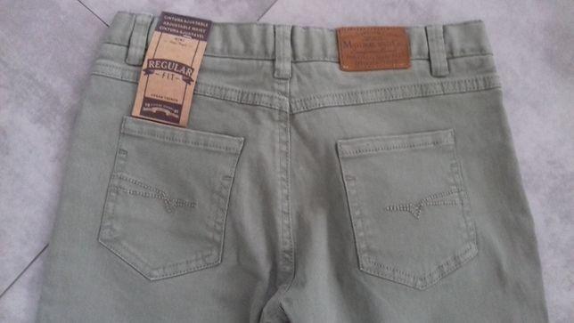 Spodnie Mayoral 134 jeans khaki reg.pas
