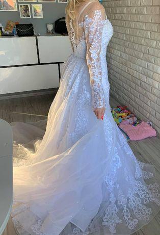 Nowa Suknia Ślubna Syrena- Dubajska Księżna