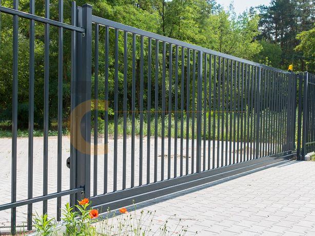 Brama przesuwna wjazdowa ogrodzeniowa. Ogrodzenia i bramy na wymiar.
