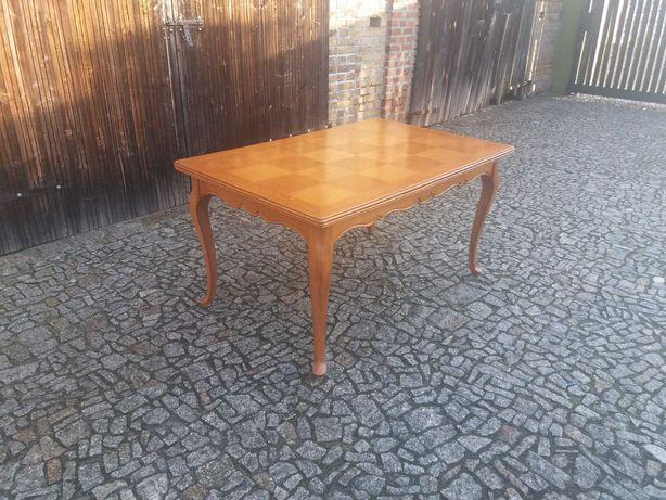 Duży rozkładany stół Ludwik Glamour do salonu jadalni drzewo