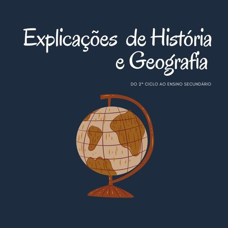 Explicação de História e Geografia   do 2° ciclo ao ensino secundário 
