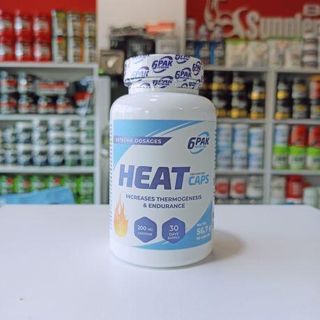 6PAK Heat Caps 120kaps Spalacz tłuszczu, Odchudzanie Black Friday