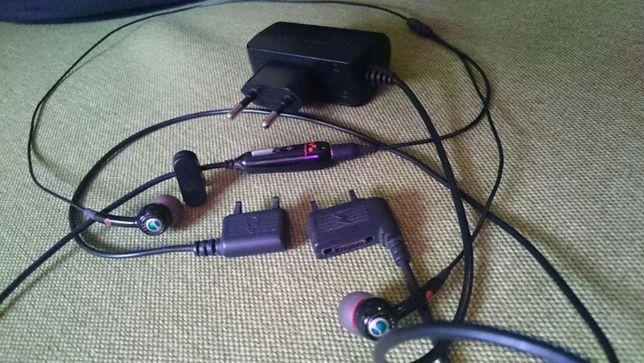 Гарнитура Sony Ericsson HPM-70 + зарядное CST-75 ORIGINAL к w850i