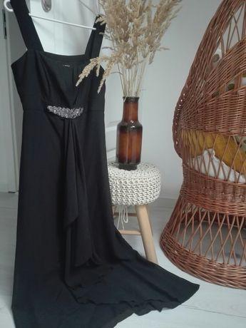 Długa sukienka na imprezę Marks&Spencer Per una speziale, rozm. 38