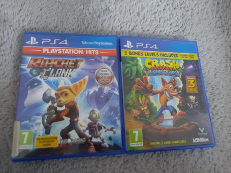 Gry ps4 crash bandicoot