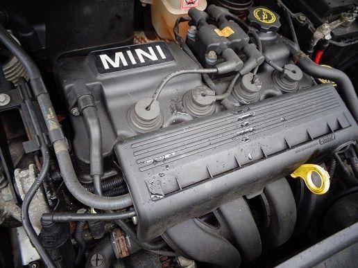 MINI COOPER R50 R52 1.6 silnik W10B16A kompletny 01-06 rok