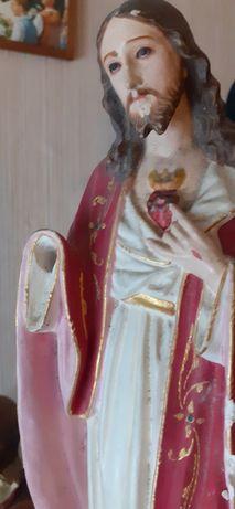 Jesus Cristo antigo estatueta