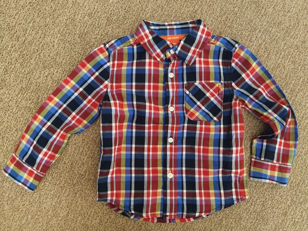 Рубашка, рубашечка, рубашка в клетку клеточку