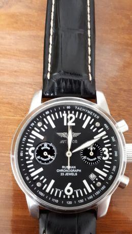 Часы-хронограф aviator (штурманские). Мех. 3133