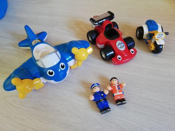 Wow Toys, samolot, motor, wyścigówka