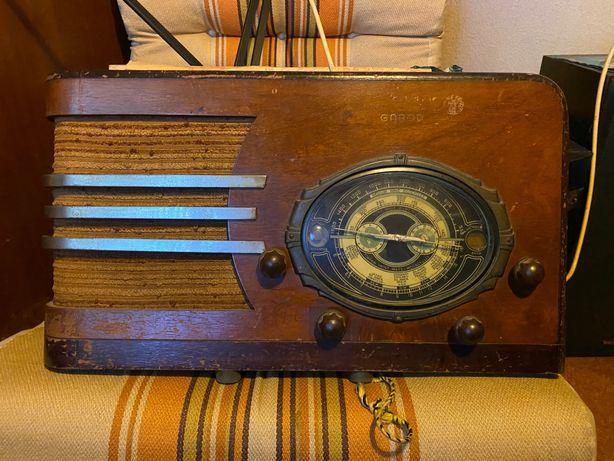 Rádio a válvulas vintage