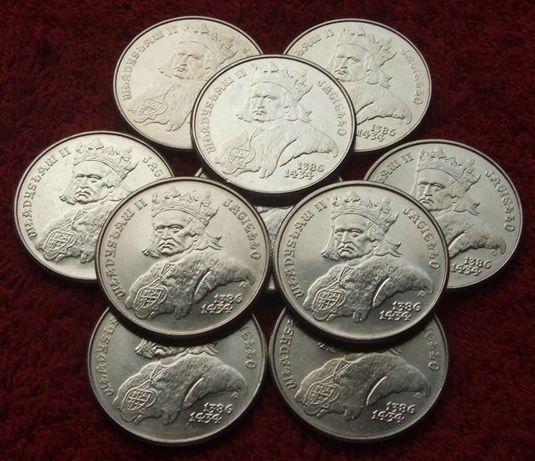POLSKA 500 zł KRÓL WŁADYSŁAW JAGIEŁŁO 1989 Rok Kolekcjonerskie Monety