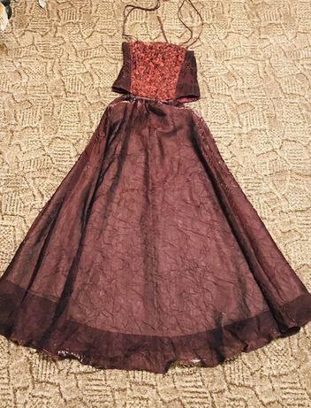 Женское вечернее карнавальное историческое платье. корсет бальное