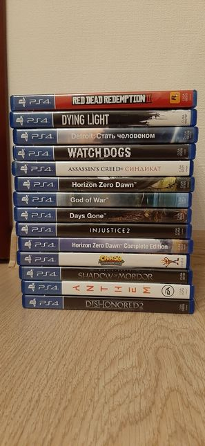 PlayStation 4 games.ОБМЕН!!!