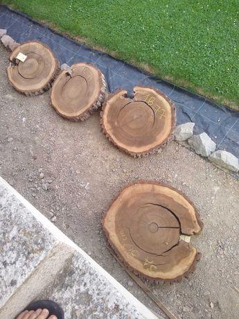 Plaster drewna orzech suche(live edge,loft,industrial,pod żywice)